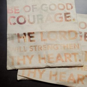 Pillow Cases, Courage